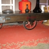 Industrial cart/coffee table
