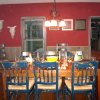 Dining Room and Distressed Chairs